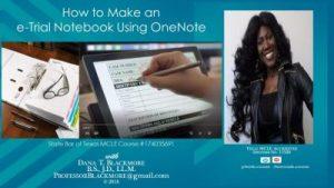 OneNote e-Trial Notebook